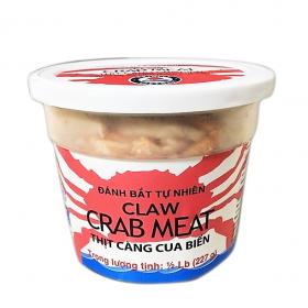 Thịt càng ghẹ đóng lon nhựa