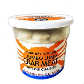 Thịt đùi ghẹ đóng lon nhựa